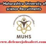 MUHS Recruitment 2021 - Jobs In Maharashtra University of Health Sciences