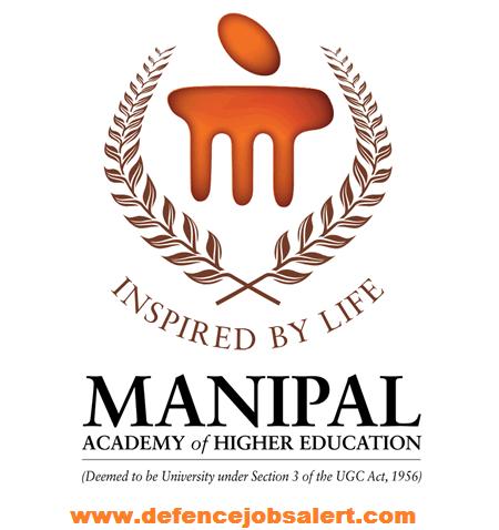 Manipal University Recruitment