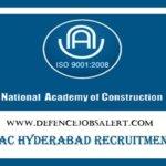 NAC Recruitment 2021 - Latest Government Notification