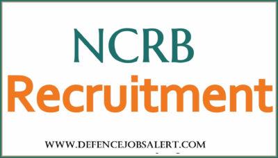 NCRB Delhi Recruitment