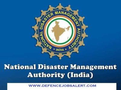 NDMA Delhi Recruitment