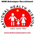 NHM Balrampur Recruitment