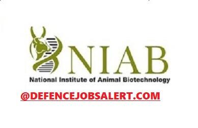 NIAB Hyderabad Recruitment
