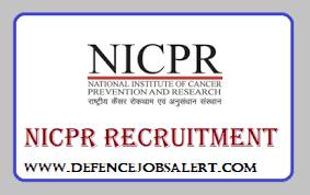 NICPR Recruitment