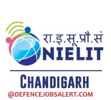 NIELIT Chandigarh Recruitment