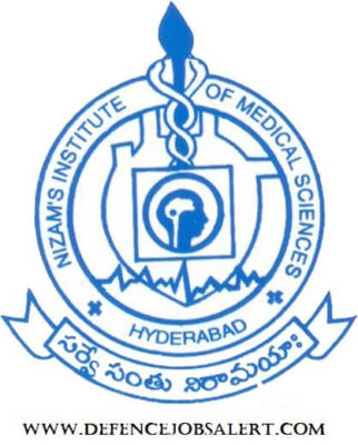 NIMS Hyderabad Recruitment