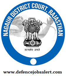 Nagaur District Court Recruitment