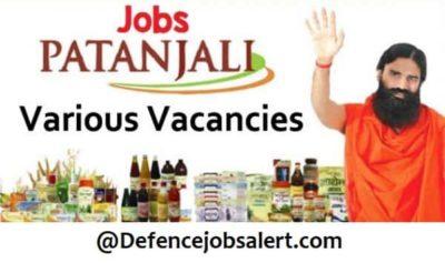 Patanjali Ayurved Jobs