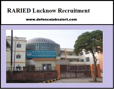 RARIED Lucknow Recruitment