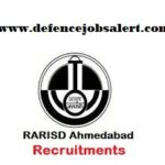 RARISD Ahmedabad Recruitment