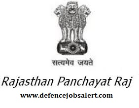 Rajasthan Panchayati Raj Recruitment