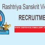Rashtriya Sanskrit Vidyapeetha Recruitment