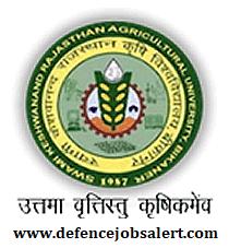 SKRAU Bikaner Recruitment