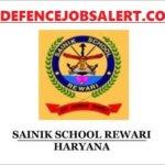 Sainik School Rewari Recruitment 2021 - Apply For 13 Warder, Ayah, LDC Vacancies