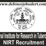 NIRT Rajasthan Recruitment 2021 - Upcoming Jobs In Rajasthan