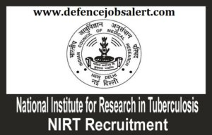 NIRT Rajasthan Recruitment