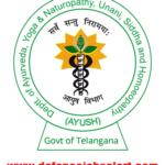 Telangana Ayush Recruitment 2021 -Upcoming Naukri In Department AYUSH Telangana