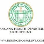 Telangana Health Department Recruitment 2021 -Upcoming Latest Notification