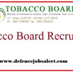 Tobacco Board Recruitment 2021 - Jobs In Tobacco Board, Guntur, Andhra Pradesh