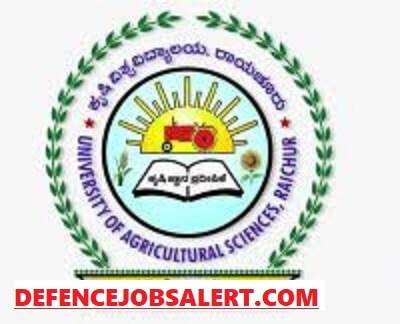 UAS Raichur Recruitment