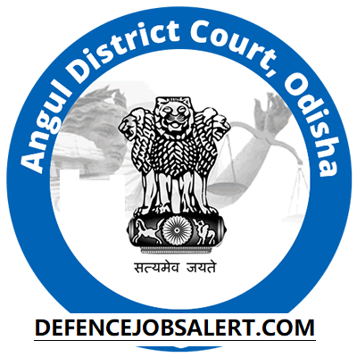 Angul District Court Recruitment
