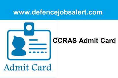 CCRAS LDC And UDC Admit Card