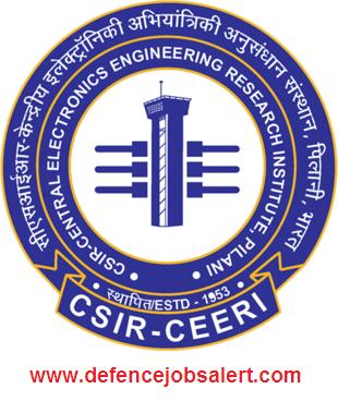 CEERI Pilani Recruitment