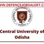 CUO Recruitment 2021 -  Upcoming New Jobs In Odisha