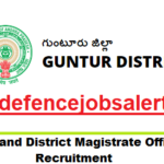 Collector And District Magistrate Guntur Recruitment 2021 - 31 Jr Asst, Typist & Other Vacancies