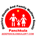 DHFWS Panchkula Recruitment 2021 - No Active Vacancy In This Post