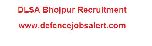 DLSA Bhojpur Recruitment