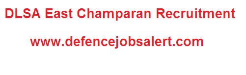 DLSA East Champaran Recruitment