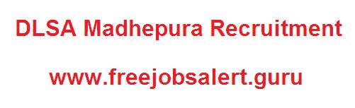DLSA Madhepura Recruitment