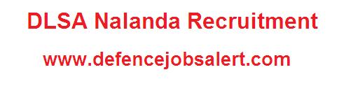 DLSA Nalanda Recruitment