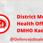 DMHO Kadapa Recruitment 2021 – 12 Paramedical Opthalmic Assistant Posts