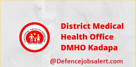 DMHO Kadapa Recruitment