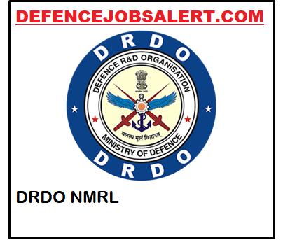 DRDO NMRL Apprentice Recruitment