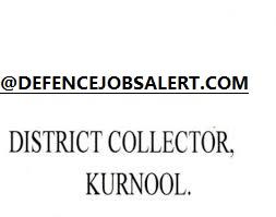 District Collector Kurnool Recruitment