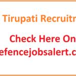 GMH Tirupati Recruitment 2021 - 34 Lab Technician, Theater Assistant, ANM & Other Post