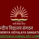 Kendriya Vidyalaya Mahabubabad Recruitment 2021 - 07 TGT, PRT, Staff Nurse & Other Vacancies