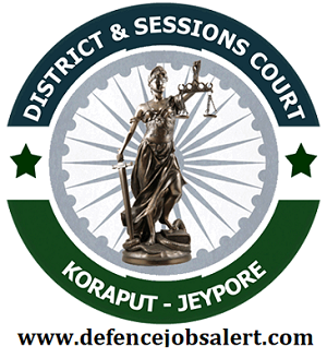 Koraput District Court Recruitment