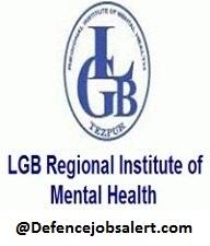 LGBRIMH Recruitment
