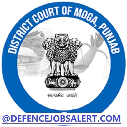 Moga District Court Vacancy