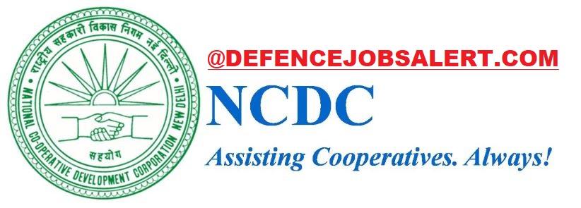 NCDC Delhi Recruitment