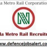 NMRC Recruitment 2021 - Latest Notification In Noida Metro Rail Corporation Limited