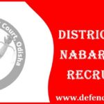 Nabarangpur District Court Recruitment 2021 - 22 Group-D Vacancy | Welcome For New Jobs