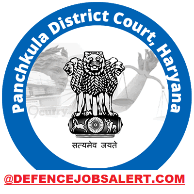Panchkula District Court Recruitment
