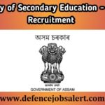 Secondary Education Assam Graduate Teacher Recruitment