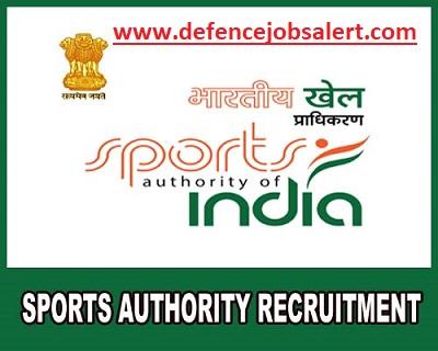 Sports Authority of India Punjab Recruitment