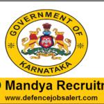WCD Mandya Recruitment